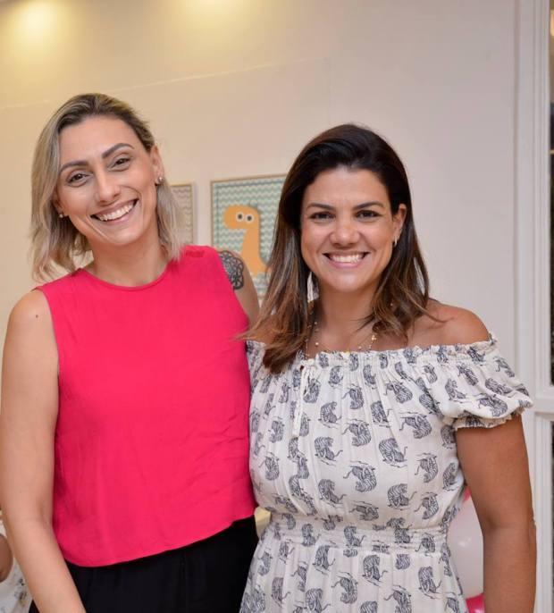Mariana Fernandes e Pollyana Comunale